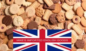 Mike's Imported English Goods Biscuits